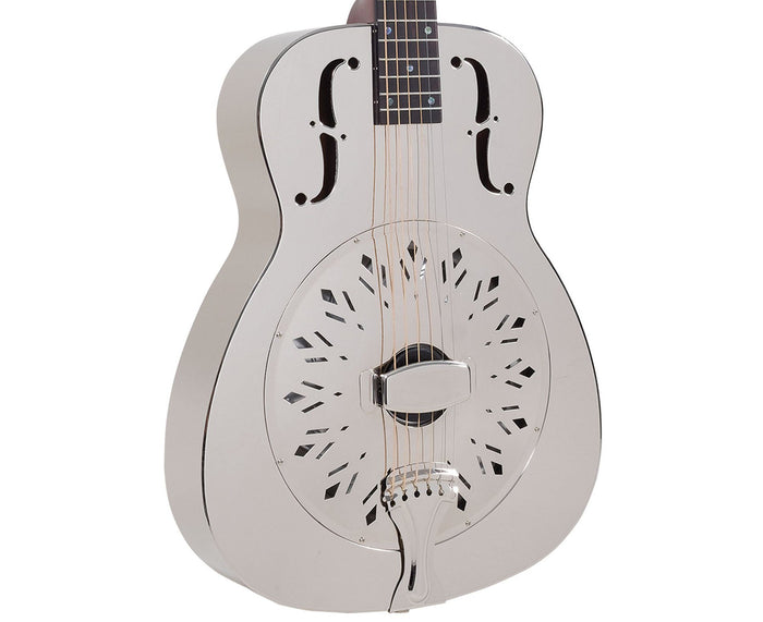 Recording King RM-998-D Metal Body Resonator- Free Rock Slide