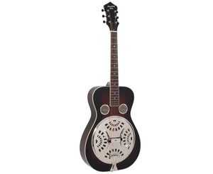Recording King RR-36-VS Maxwell Series Round Neck Resonator - Free Chrome Slide Resonator Recording king