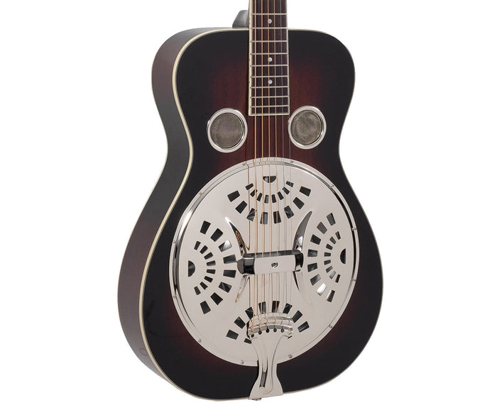 Recording King RR-36-VS Maxwell Series Round Neck Resonator - Free Chrome Slide