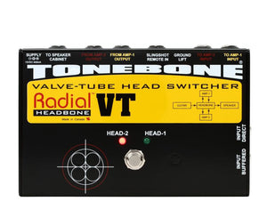 Radial Headbone VT Tube Amplifier Head Switcher - Megatone Music