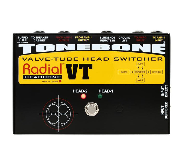 Radial Headbone VT Tube Amplifier Head Switcher