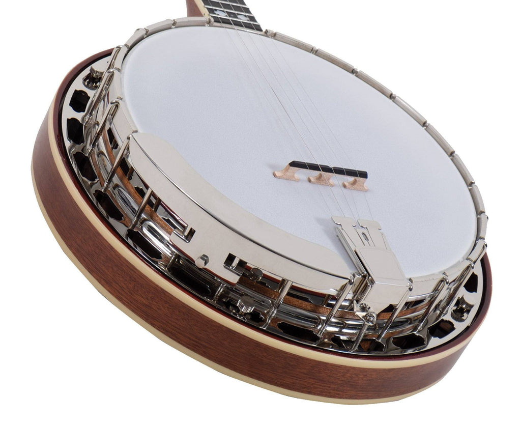 Recording King ELITE-76 Resonator Banjo, The Elite Hearts & Flowers - Megatone Music