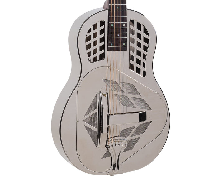 Recording King RM-991 Metal Body Resonator, Tricone - Free Rock Slide