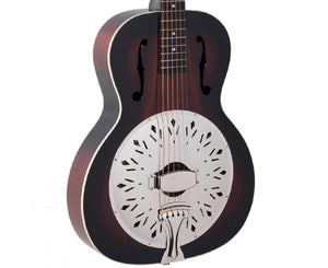 Recording King RR-41-VS Rattlesnake Wood Body Resonator Guitar - Used - Megatone Music