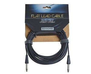 "RockBoard Flat Lead Cable 600CM / 236.22""/ 20 Foot Straight to Straight - Megatone Music"