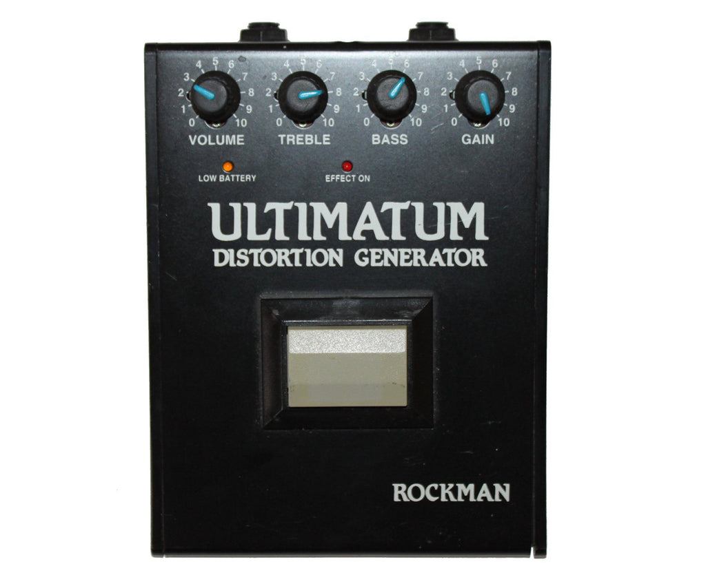Rockman Ultimatum Distortion Generator Created by Tom Scholz - Very Rare! - Megatone Music