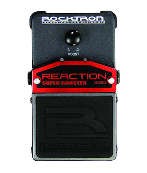 Rocktron Reaction Super Booster Effects Pedal - Megatone Music