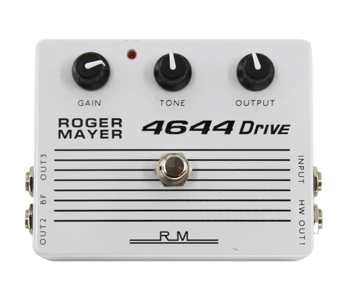 Roger Mayer 4644 Drive Pedal - Made in the UK