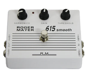 Roger Mayer 615 Smooth Analogue Dynamics Processor Compressor Pedal - Megatone Music