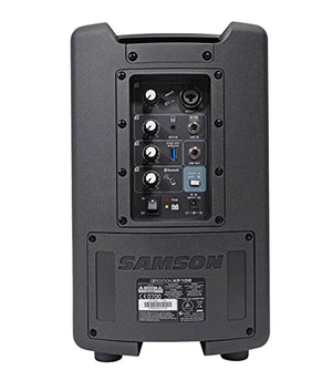 Samson XP106wDE - Rechargeable Portable PA w/ Headset Wireless System and Bluetooth Portable PA Samson