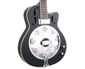 Savannah SR-520-CEBM Electric Resonator - Free Chrome Slide Resonator Savannah