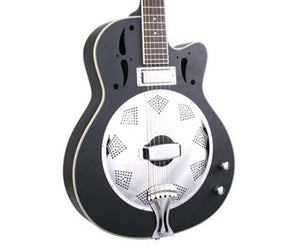 Savannah SR-520-CEBM Swamp Stomper Electric Resonator Guitar