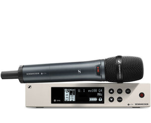 Sennheiser EW100 G4 Handheld Wireless System with e 835 Capsule Wireless Microphone System Sennheiser