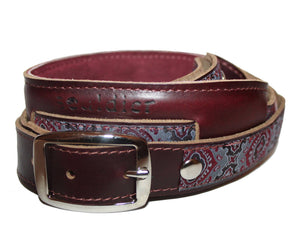 Souldier Vintage Leather Saddle Strap - Jaipur - Megatone Music