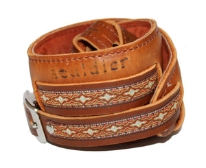 Souldier Vintage Leather Saddle Strap - Alhambra - Megatone Music