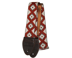 "Souldier 2.0"" Rustic Brown Custom Guitar Strap - Megatone Music"