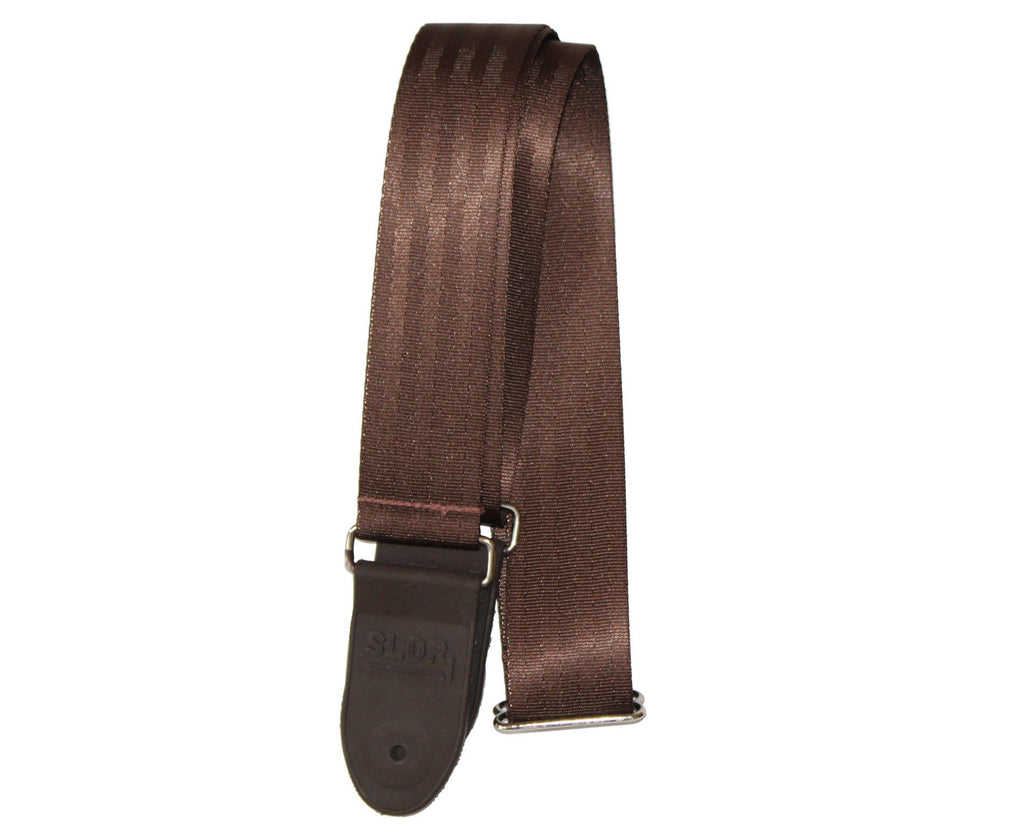 "Souldier SLDR 2.0"" Brown Seatbelt Custom Made Guitar Strap Guitar Straps Souldier"