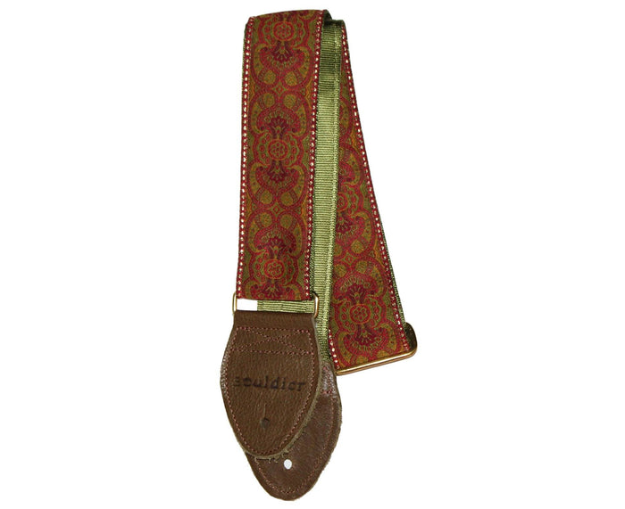 "Souldier 2.0"" Arabesque Custom Made Strap Red"