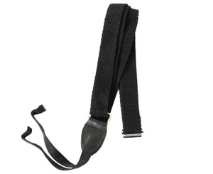 "Souldier 1.0"" Black Woven Custom Ukulele Strap Guitar Straps Souldier"
