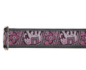 "Souldier 2.0"" Bombay Custom Made Strap Pink and Black Guitar Straps Souldier"