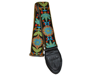"Souldier 2.0"" Daisy Blue Custom Guitar Strap - Megatone Music"