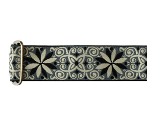 "Souldier 2.0"" Dresden Star Gray Custom Guitar Strap - Megatone Music"
