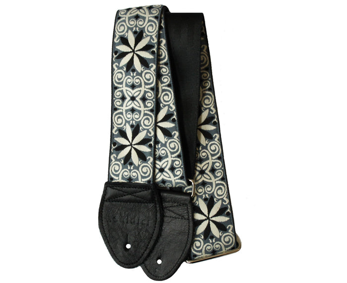 "Souldier 2.0"" Dresden Star Gray Custom Guitar Strap"