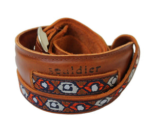 Souldier Vintage Leather Saddle Strap - Sundown - Megatone Music