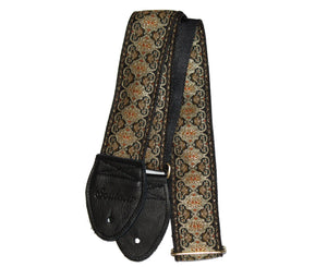"Souldier 2.0"" Persian Black Custom Made Strap Guitar Straps Souldier"