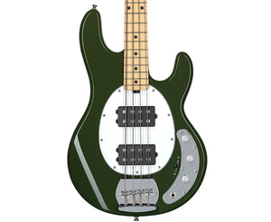 Sterling by Music Man Ray4HH Bass Guitar in Olive - Megatone Music