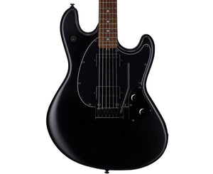 Sterling by Music Man StingRay Electric Guitar in Stealth Black Electric Sterling by Music Man
