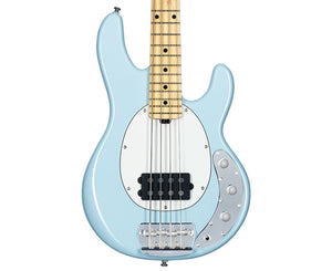 Sterling SSRAY4 Short Scale Ray 4 Bass Daphne Blue - Megatone Music