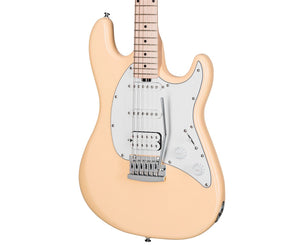 Sterling by Music Man Cutlass Electric Guitar in Vintage Cream Electric Sterling by Music Man
