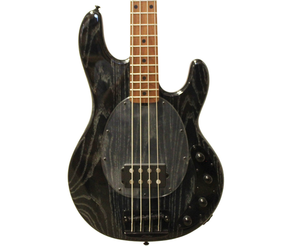 Sterling by Music Man RAY34ASH BFR-Inspired Bass Guitar in Black - Megatone Music