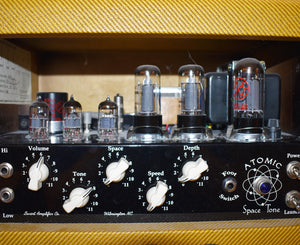 Swart AST Atomic Space Tone Tube Combo Amp in Two Tone Tweed w/ Cover