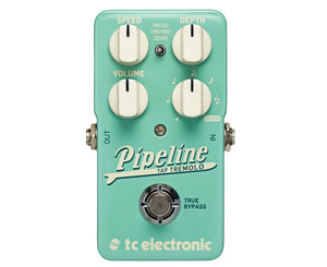 TC Electronic Pipeline Tap Tempo Tremolo Effects Pedal - Megatone Music