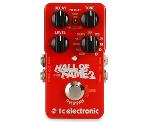 TC Electronic Hall of Fame Reverb 2 Effects Pedal - Megatone Music