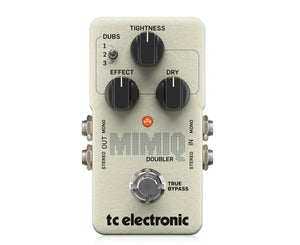 TC Electronic Mimiq Doubler Effect Pedal for Electric Guitar - Megatone Music