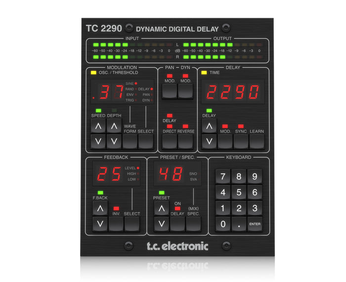 TC Electronic TC2290-DT Dynamic Delay Controller and Plug-in