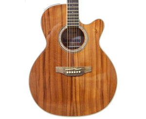 Takamine GN77KCE Acoustic-Electric Guitar in Natural Koa