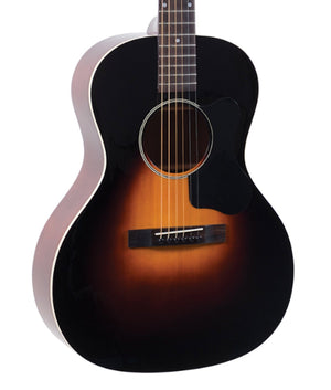 The Loar LO-18-VS Small Body Acoustic Guitar in Vintage Sunburst - Megatone Music