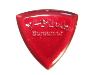 V-Picks Ruby Red Screamer 2.75mm Custom Guitar Pick - Very Rare! - Megatone Music