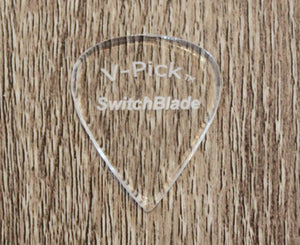 V-Picks Switchblade 1.5mm Clear Picks V-Picks