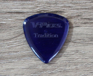 V-Picks Sapphire Tradition 2.75mm Clear Custom Guitar Pick Picks V-Picks