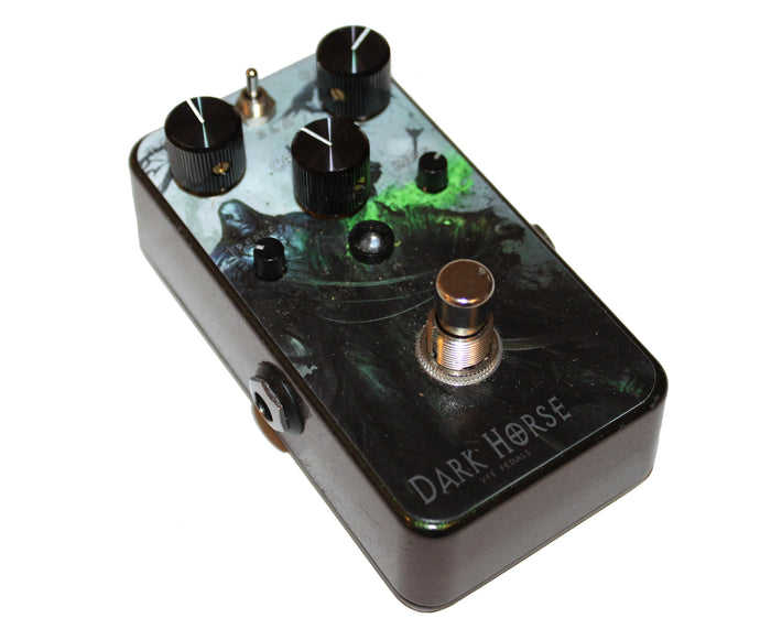 VFE Dark Horse Hard Edge Distortion Pedal w/ Limited Edition Graphic
