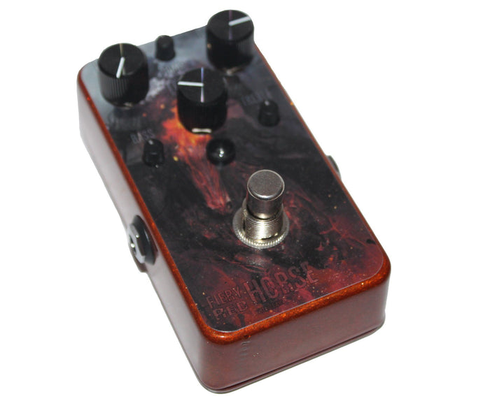 VFE Fiery Red Horse Fuzz - Custom Graphic