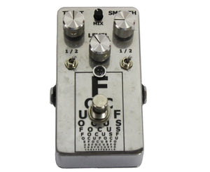 VFE Focus Mid-Boost Effects Pedal Limited Edition Chrome - Megatone Music