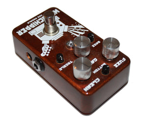VFE Woodchipper Bass Octave Fuzz Effects Pedal Bass Pedals VFE