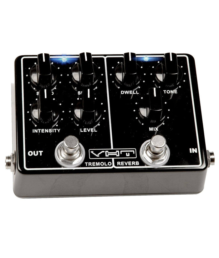VHT Melo-Verb Dual Pedal w/ Reverb and Tremolo