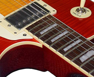 Vintage Icon Series V100MRCS 2016 Distressed Cherry Sunburst - Megatone Music